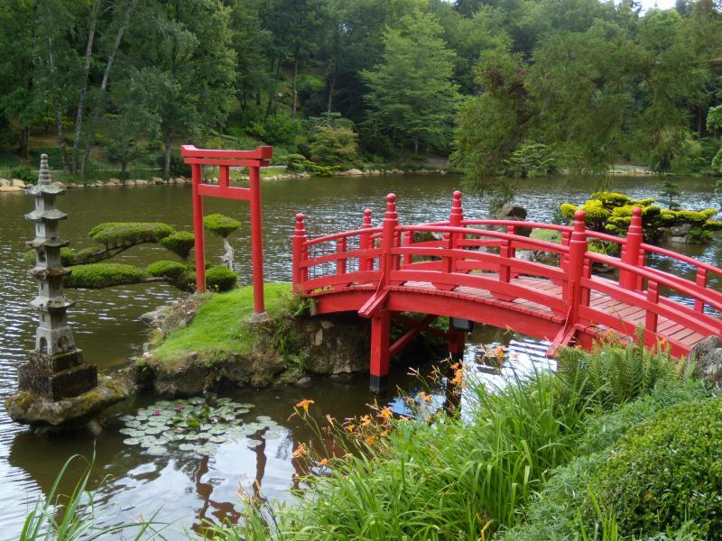 30 mn de gite bellevue parc oriental de maul vrier for Jardin japonais cholet